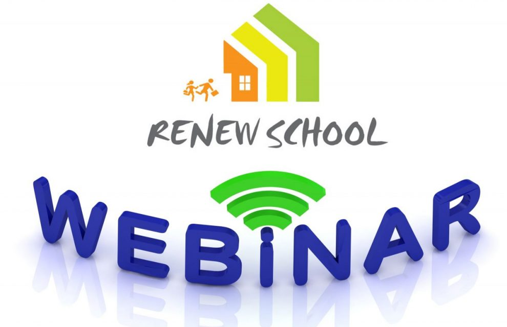 RENEW SCHOOL Webinar – Real examples and outcomes from the Renew-School project